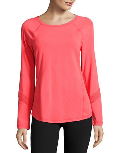 Calvin Klein Performance Long Sleeve Performance Top-PINK-X-Large 88924079_PINK_X-Large