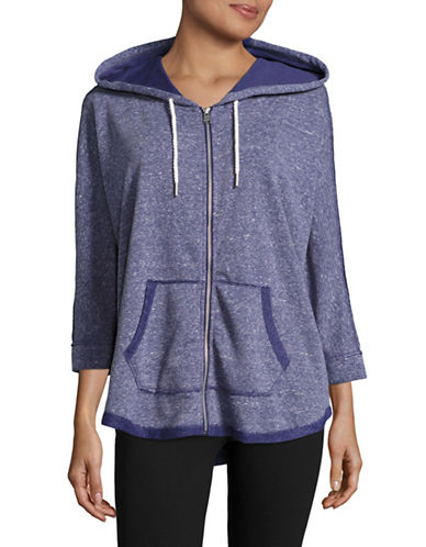 Calvin Klein Performance Quick-Dry Dolman Zip Hoodie-MOONLIGHT-Small 88924023_MOONLIGHT_Small