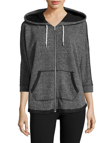 Calvin Klein Performance Quick-Dry Dolman Zip Hoodie-BLACK-Medium 88924017_BLACK_Medium