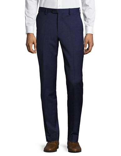 Tommy Hilfiger Stretch Performance Dress Pants-BLUE-42X34