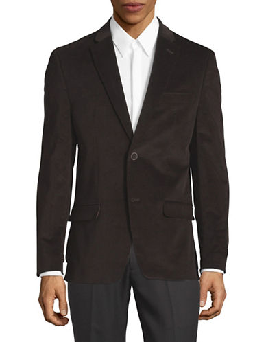 Tommy Hilfiger Vented Sports Jacket-BROWN-44 Short