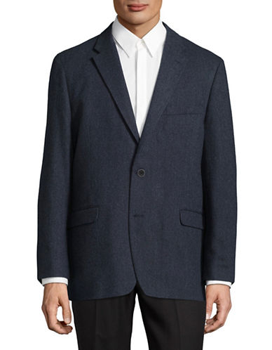 Tommy Hilfiger Notch Lapel Blazer-BLUE-48 Regular