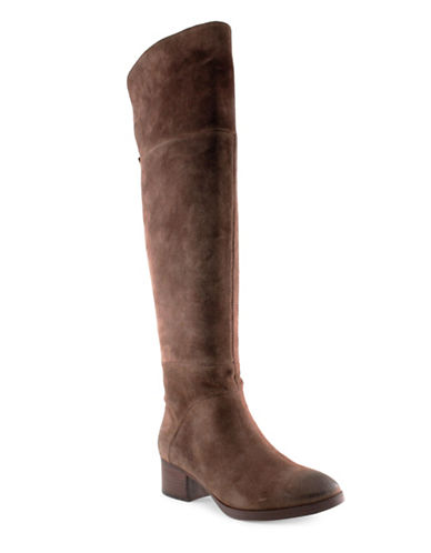 Tommy Hilfiger Gianna Over-the-Knee Boots-BROWN-9