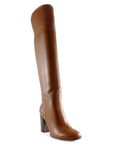 Tommy Hilfiger Neela Classic Leather Boots-BROWN-9