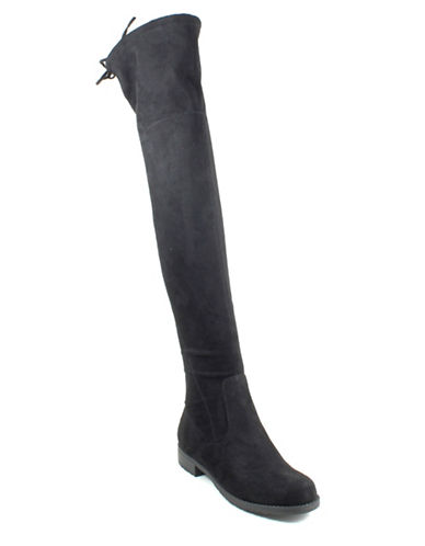 Unisa Huhvana Over-the-Knee Boots-BLACK-6.5