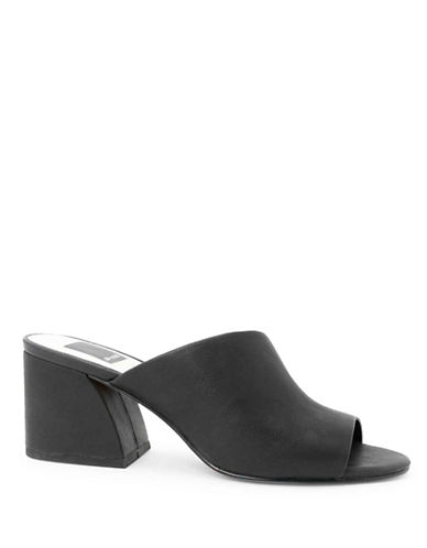 Dolce Vita Jules Leather Mules-BLACK-7.5