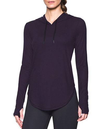 Under Armour Breathe Hooded Top-IMPERIAL PURPLE-Small 89070399_IMPERIAL PURPLE_Small