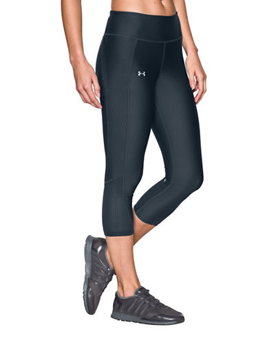 Under Armour Fly-By Capris-GREY-Small