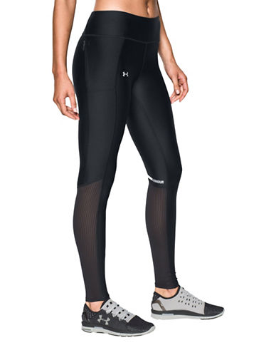 Under Armour Fly By HeatGear Leggings-BLACK-Large 88843546_BLACK_Large
