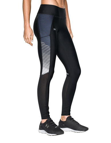 Under Armour Fly By Printed Leggings-BLACK-Medium 88843552_BLACK_Medium