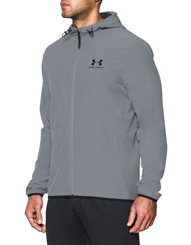 Under Armour Sportstyle Wave Track Jacket-GREY-Large 89055183_GREY_Large