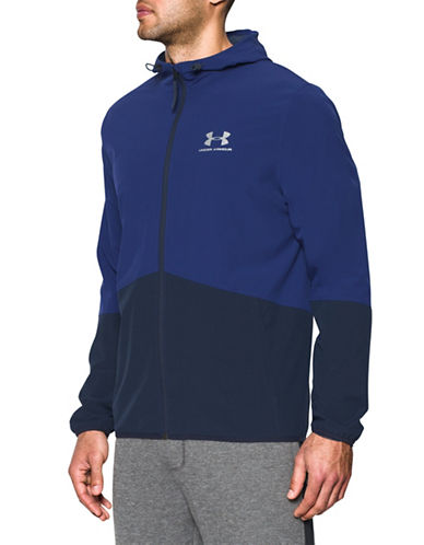 Under Armour Colourblock Track Jacket-BLUE-Medium 89055192_BLUE_Medium