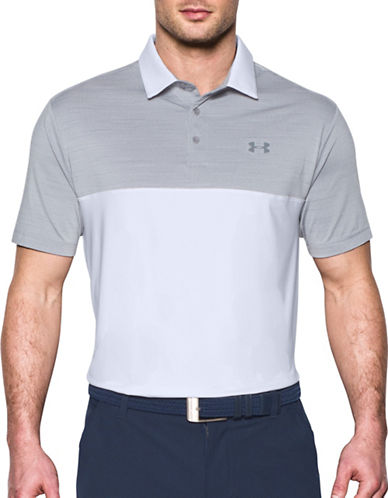 Under Armour UA Playoff Polo-GREY-Small