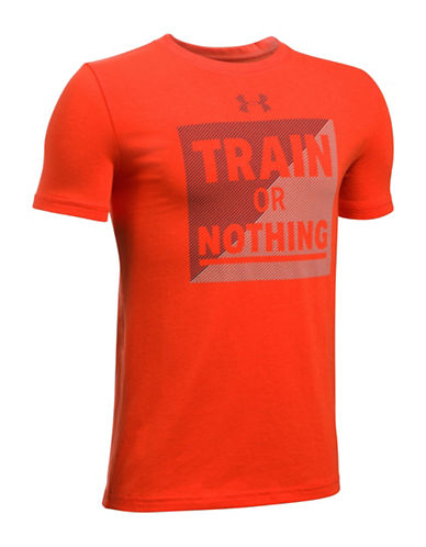 Under Armour Train or Nothing Graphic T-Shirt-ORANGE-Small 88919076_ORANGE_Small