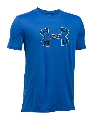 Under Armour Infusion Logo Tee-BLUE-X-Large 89081087_BLUE_X-Large