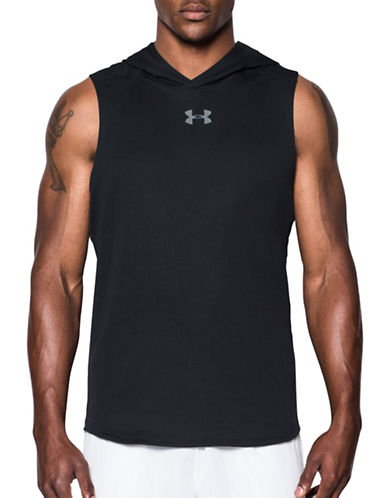 Under Armour UA Select Sleeveless Hoodie-BLACK-X-Large 89206253_BLACK_X-Large