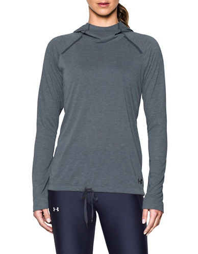 Under Armour Long Sleeve Hoodie-GREY-Large 89219396_GREY_Large