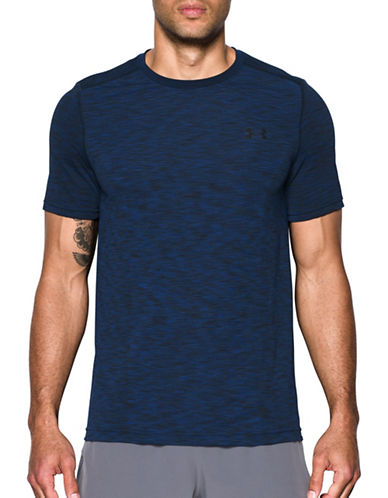 Under Armour Threadborne Seamless T-Shirt-BLUE-Medium 89322524_BLUE_Medium