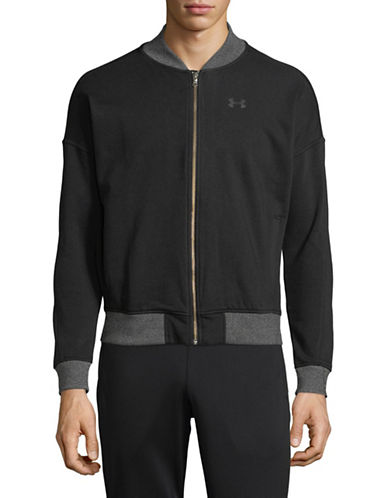Under Armour Full-Zip Jacket-BLACK-X-Small