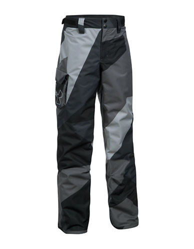 Under Armour Chutes Ski Pants-GREY-Small