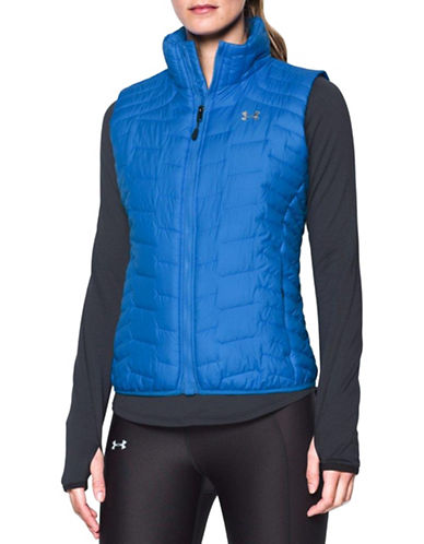 Under Armour ColdGear Reactor Hypoallergenic Vest-BLUE-X-Small