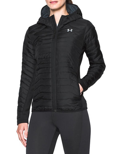 Under Armour ColdGear Reactor Hybrid Jacket-BLACK-Large 89609773_BLACK_Large