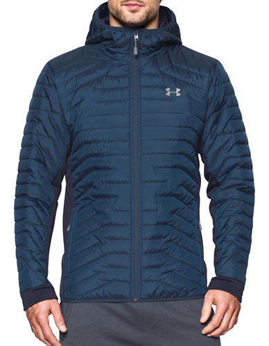 Under Armour ColdGear  Reactor Hybrid Jacket-GREY-XX-Large 89603403_GREY_XX-Large