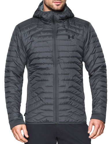 Under Armour ColdGear  Reactor Hybrid Jacket-GREEN-Medium 89603395_GREEN_Medium