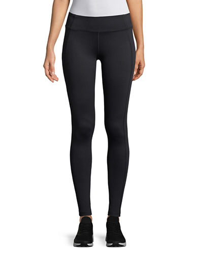 Under Armour Mirror Pull-On Leggings-BLACK-Large