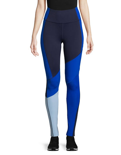 Under Armour Mirror BreatheLuxe High-Rise Leggings-BLUE-Small
