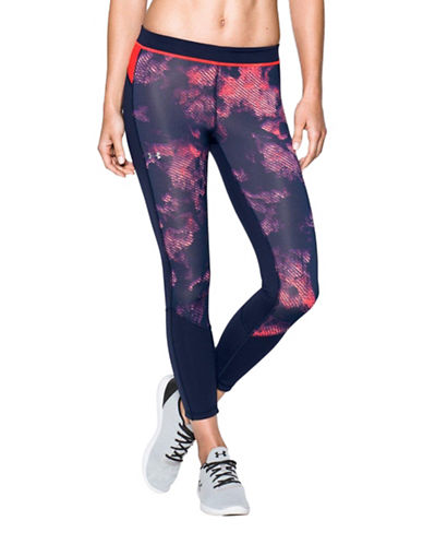 Under Armour HeatGear Armour Reversible Cropped Leggings-MULTI-Medium