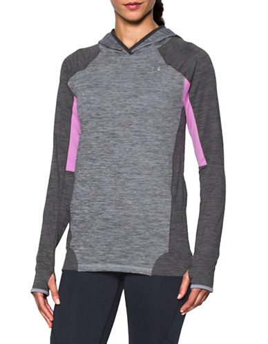 Under Armour ColdGear Hoodie-GREY-Medium