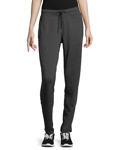 Under Armour Drawstring Sweatpants-BLACK-X-Small