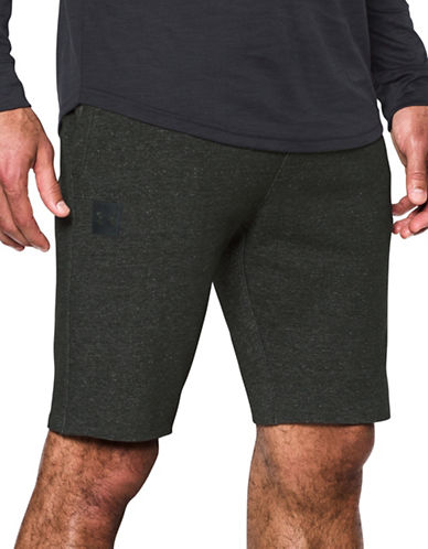 Under Armour Sportstyle Tapered Shorts-GREEN-Large