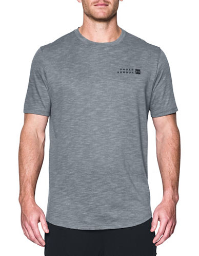 Under Armour Sportstyle Core Tee-GREY-Small 89603404_GREY_Small