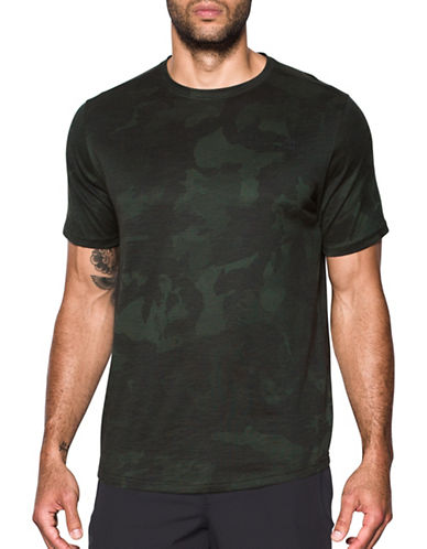 Under Armour Sportstyle Core Tee-GREEN-X-Large 89603412_GREEN_X-Large
