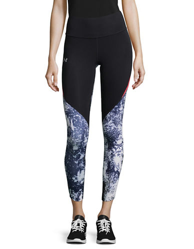 Under Armour Run True Crop Leggings-BLACK-Large 89609818_BLACK_Large