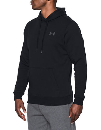 Under Armour Rival Drawstring Hoodie-BLACK-Medium 89643517_BLACK_Medium