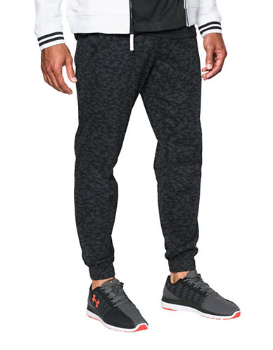 Under Armour Performance Jogger Pants-BLACK-Large