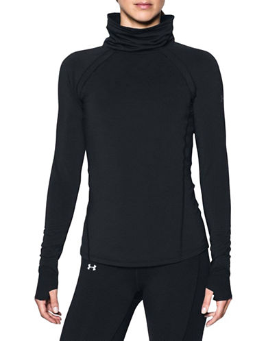 Under Armour ColdGear Reactor Funnel Neck-BLACK-X-Large