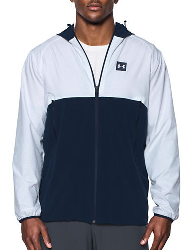 Under Armour Sportstyle Fishtail Jacket-WHITE-Large