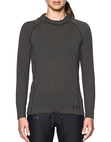 Under Armour Threadborne Training Hoodie-GREY-Large