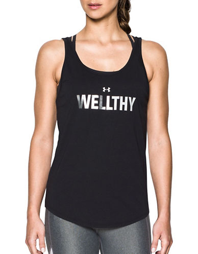 Under Armour Wellthy Tank Top-BLACK-Medium 89327455_BLACK_Medium