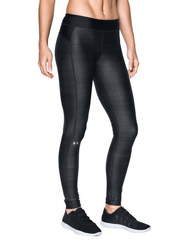 Under Armour Printed Leggings-BLACK-Large 89655788_BLACK_Large