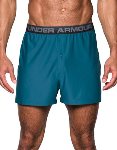 Under Armour Original Series Boxer Shorts-BLUE-X-Large