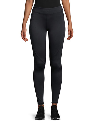 Under Armour Graphic Panel Leggings-BLACK-Medium