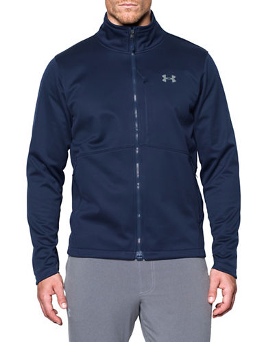 Under Armour Storm Softershell Jacket-BLUE-X-Large 89622017_BLUE_X-Large