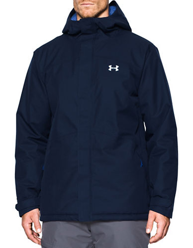 Under Armour Storm Powerline Insulated Lightweight Jacket-BLUE-Large