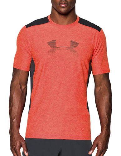Under Armour HeatGear Raid Graphic T-Shirt-RED-XX-Large