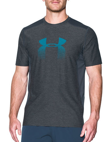 Under Armour Raid Graphic Tee-GREY-Medium 89322579_GREY_Medium